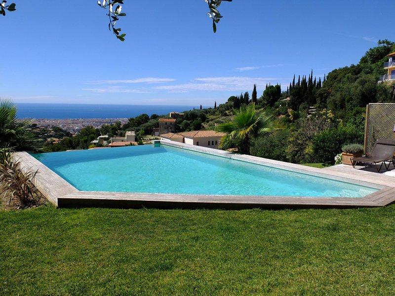 Amazing Modern Villa In Nice, vacation rental in Colomars