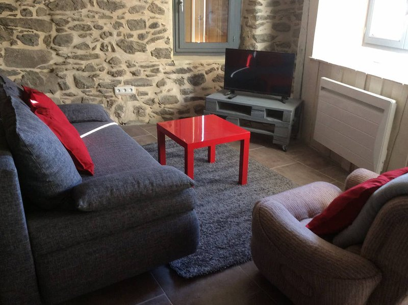 Big chalet with terrace, vacation rental in Camurac