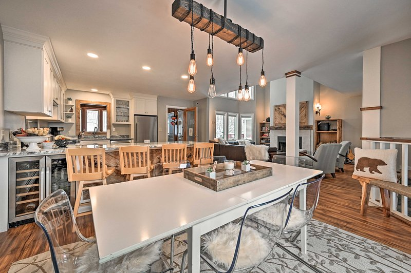 This 3-bedroom, 3-bath condo is the ideal home base for your mountain escape!