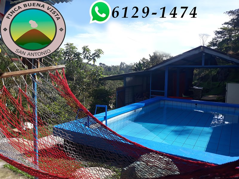 Finca Buena Vista, San Antonio de Turrialba, vacation rental in Province of Cartago
