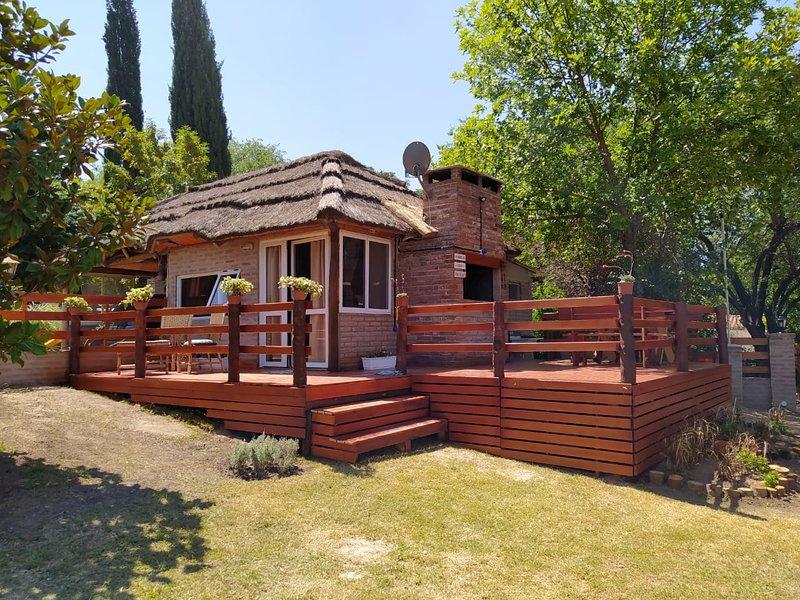 Cabañas Sueño dorado, vacation rental in Tanti