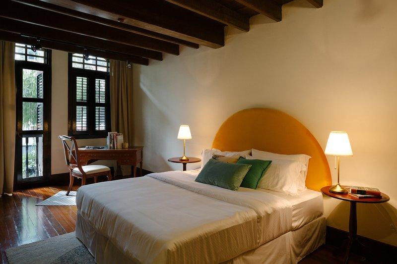 La hermosa suite Serai en Banda House.
