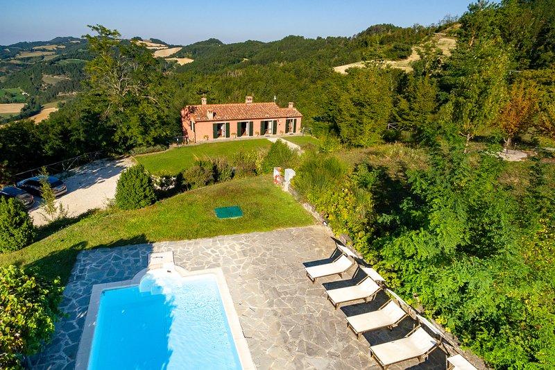 Villa Mazzino, alquiler vacacional en Dovadola