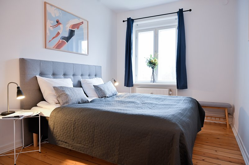 Newly-renovated 2-bedroom apartment in Charlottenlund, holiday rental in Alleroed Municipality