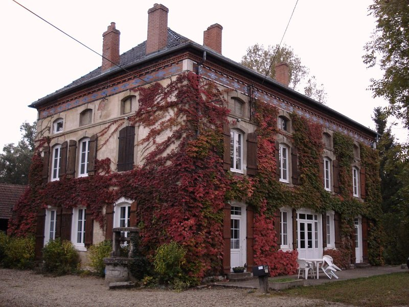 CHAMBRES ET TABLE D'HOTES A SAINT BONNET EN BRESSE, holiday rental in Saint-Martin-en-Bresse