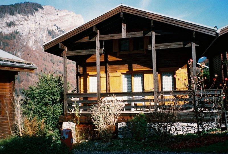 Amazing chalet with mountain view, location de vacances à Sixt-Fer-a-Cheval