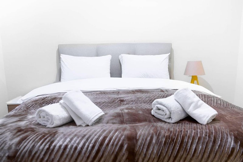 We got clean towels and linens covered for your arrival