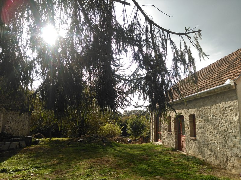 Rustic but modern guesthouse near thermal lake and bath, location de vacances à Zala County