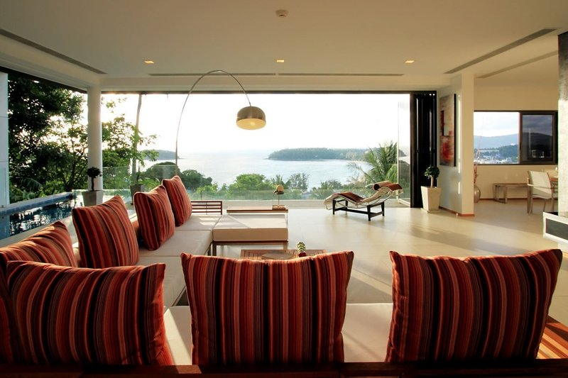 A2 · The Heights Luxury Penthouse Magnificent sea view, vacation rental in Kata Beach