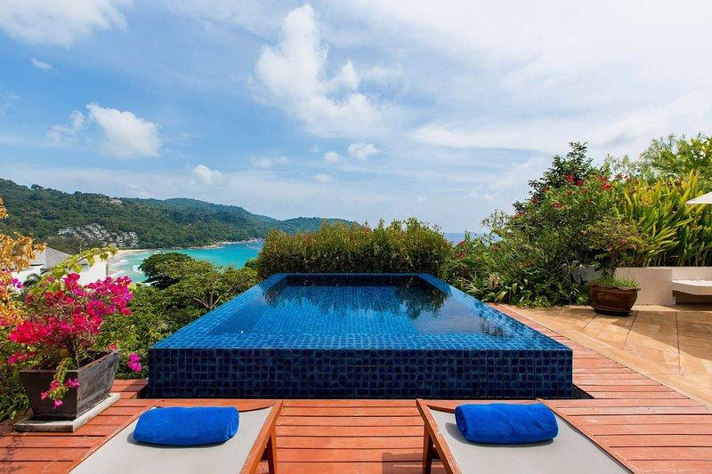 Kata gardens Luxury seaview penthouse 8C, casa vacanza a Kata Noi Beach