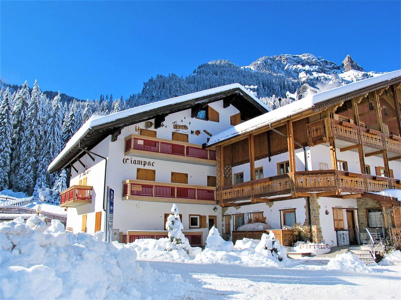 Ciampac Chalet in Canazei