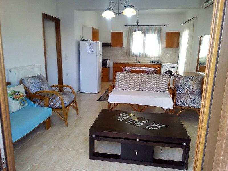 Ikia apartment Ierissos, holiday rental in Ouranoupoli