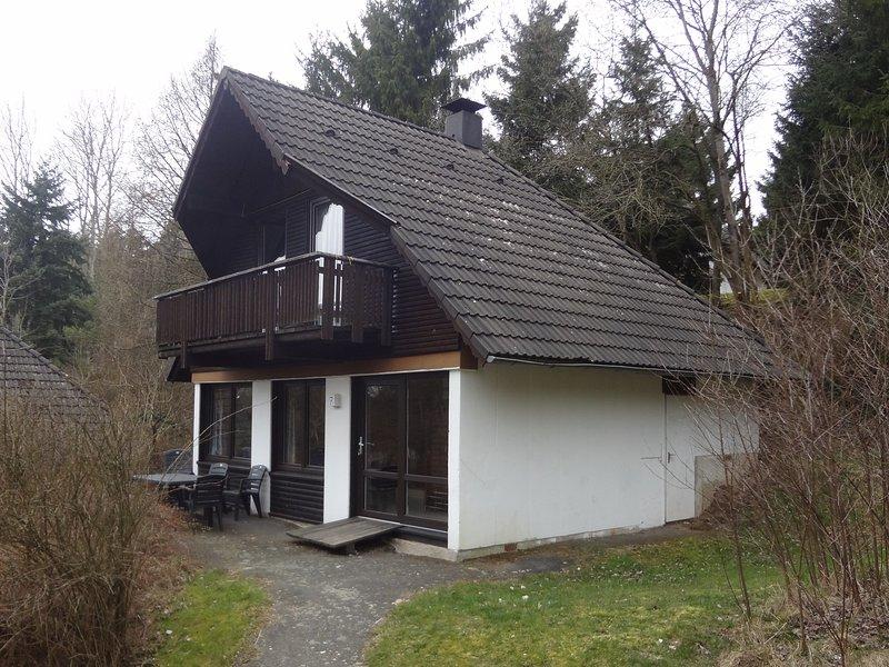 Ferienhaus am Rande des Kellerwalde's, location de vacances à Frankenberg