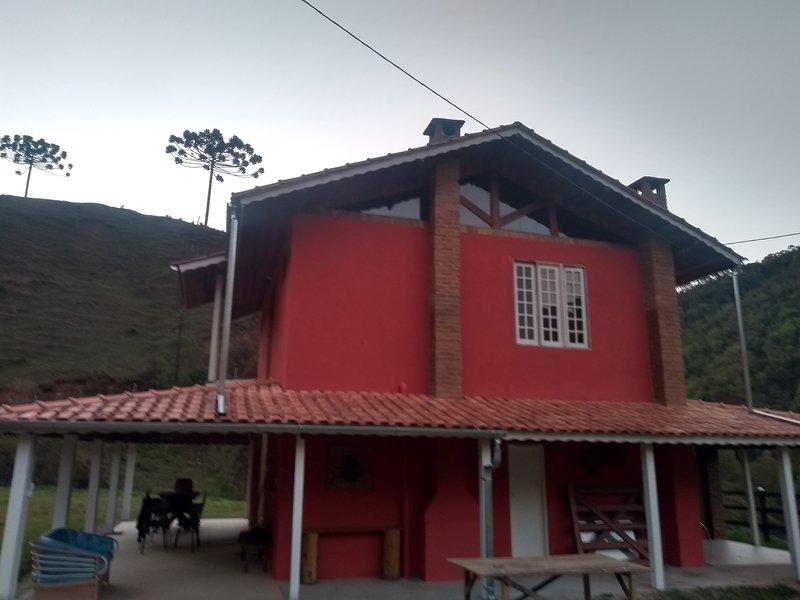 Sítio céu de luar, alquiler vacacional en Penedo