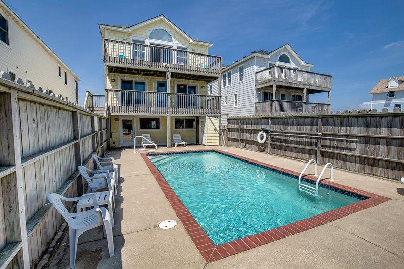 Dream Weaver II | Oceanfront | Dog Friendly, Private Pool, Hot Tub | Nags Head, location de vacances à Nags Head