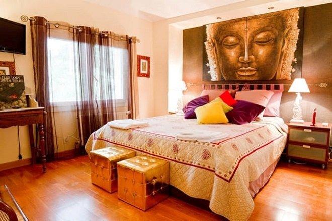B&B - HERMINE OCCITANE - Maison d'hôtes- Chambre Namaste, location de vacances à Rieux-Volvestre