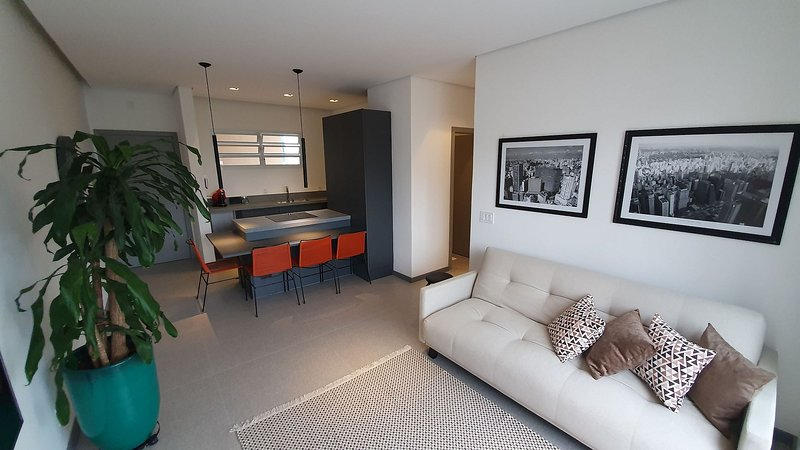 Linda cobertura nos Jardins com 2 quartos, vacation rental in Sao Paulo