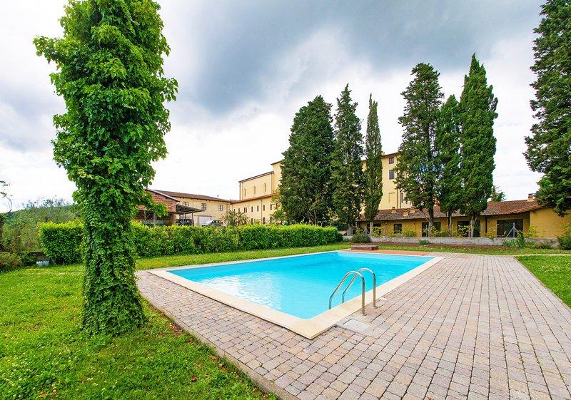 Residence la Poggerina - (Apt.9) appartamento nel chianti, holiday rental in Ponte Agli Stolli