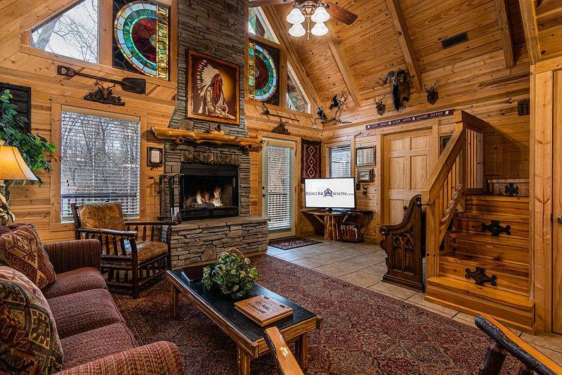 Ozark  Haven Lodge w/HotTub, casa vacanza a Ridgedale