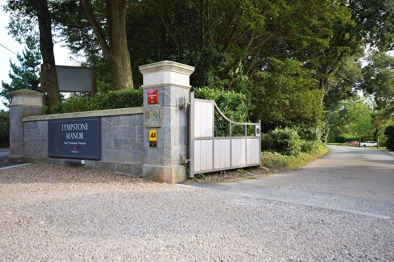 Aux portes du Manoir Lympstone Michelin étoilé de Michael Caines.