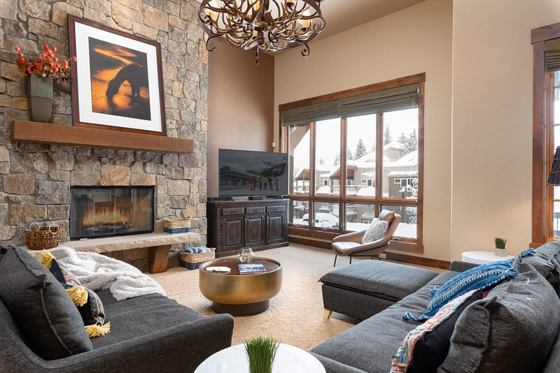 Welcome home to Base Camp 492, a ski in/ski out four bedroom townhome at the base of Jane Creek