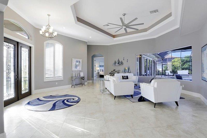 Living Room/ Entryway