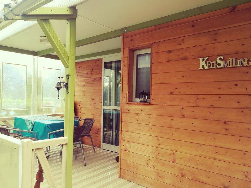 Petit bois, le bungalow familial au calme, location de vacances à Ménessaire