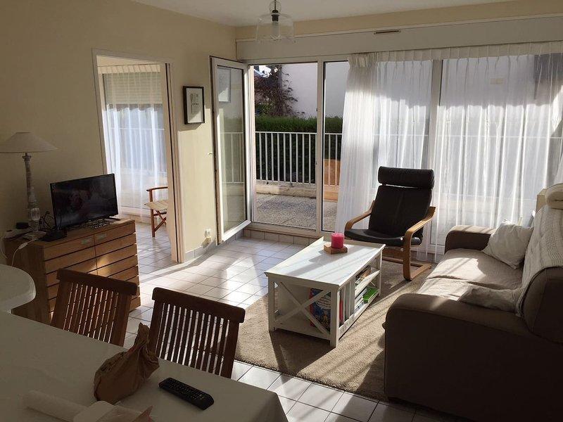 Nice apartment near the beach, alquiler de vacaciones en Matignon