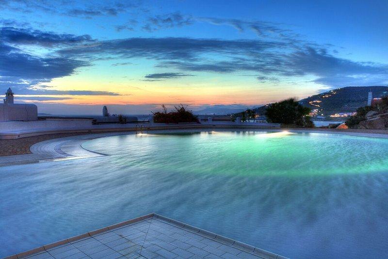 Villa Delos Sunset View, location de vacances à Agios Ioannis
