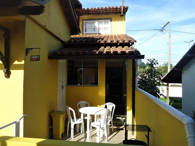 Cond. Vila do Sossego, Casa 01 Loft, vacation rental in Cabo Frio