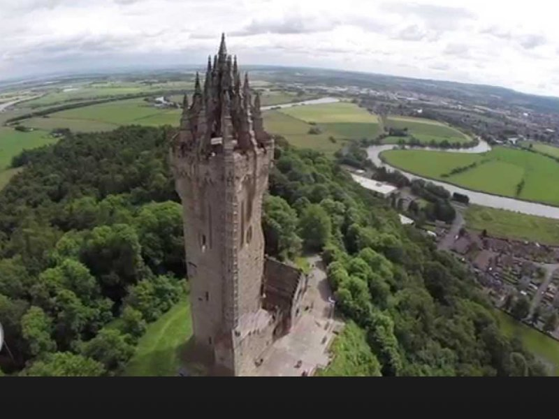 Count the steps to the top of THE WALLACE MONUMENT