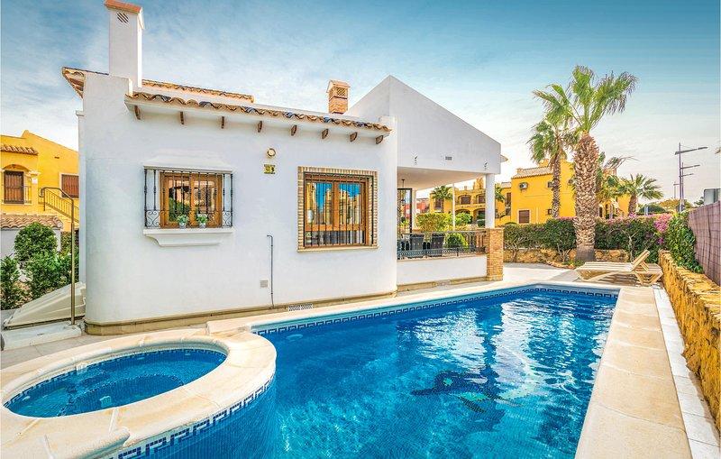 Fantastisch vakantiehuis in het La Finca Golf Resort (EBL562), holiday rental in Catral
