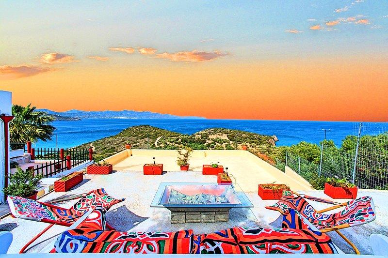 Anemone Seaside Traditional Homes - Maisonette 2 bedrooms Sea View, casa vacanza a Agios Nikolaos