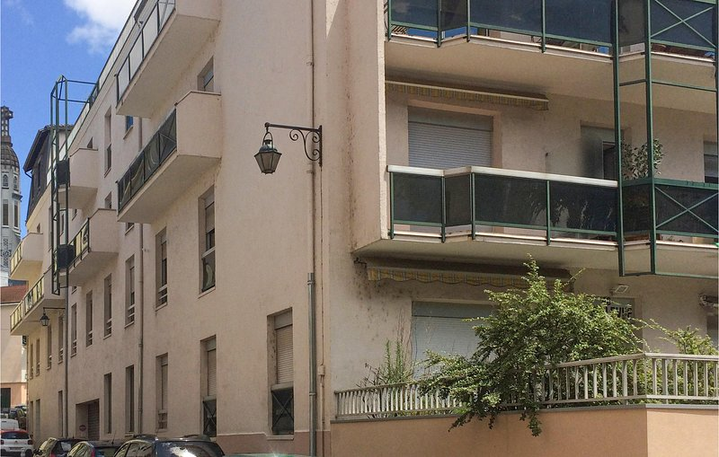 Amazing apartment in Vichy with 1 Bedrooms (FUA007), holiday rental in Brugheas