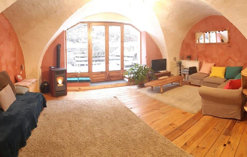 Maison ancienne 12 pers en plein coeur de Monêtier, location de vacances à Le Monetier-les-Bains