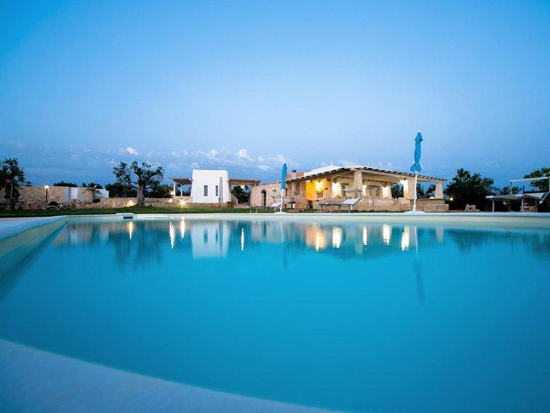 villa trullo indipendente, vacation rental in Torre Suda