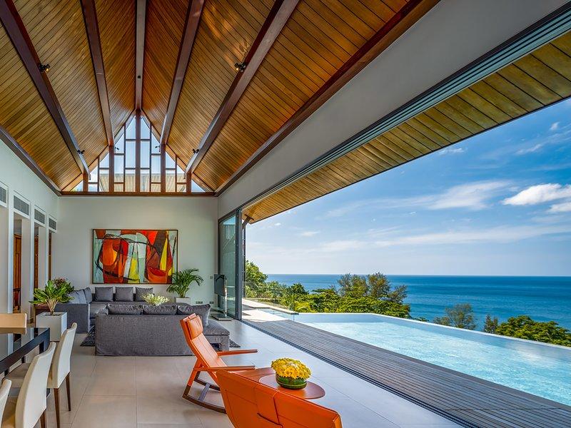 Villa Chan Paa, 4BR, Naithon Beach, vakantiewoning in Nai Thon