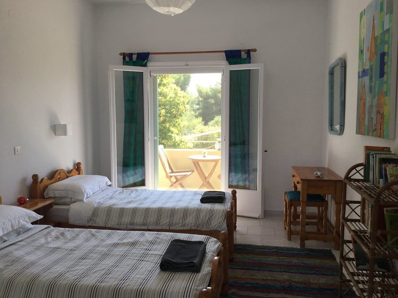 Relaxing retreat in Chalikounas: double room, holiday rental in Chalikounas