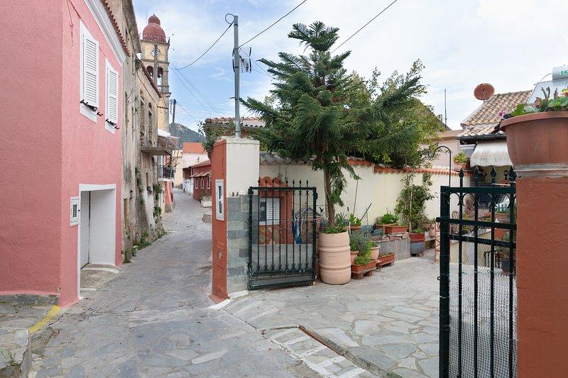 Krasa 2bedroom apartment, holiday rental in Agios Matthaios