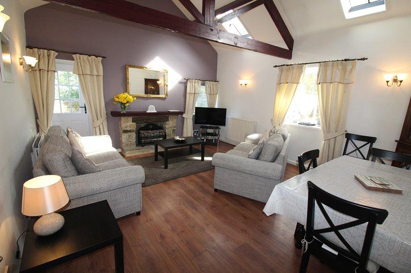 Pele Cottage at Burradon Farm, alquiler de vacaciones en Shiremoor