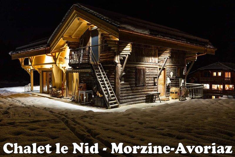 Chalet le NId - Chalet individuel -  Au pied des pistes d'Avoriaz - 9 p - 3 cham, vacation rental in Avoriaz