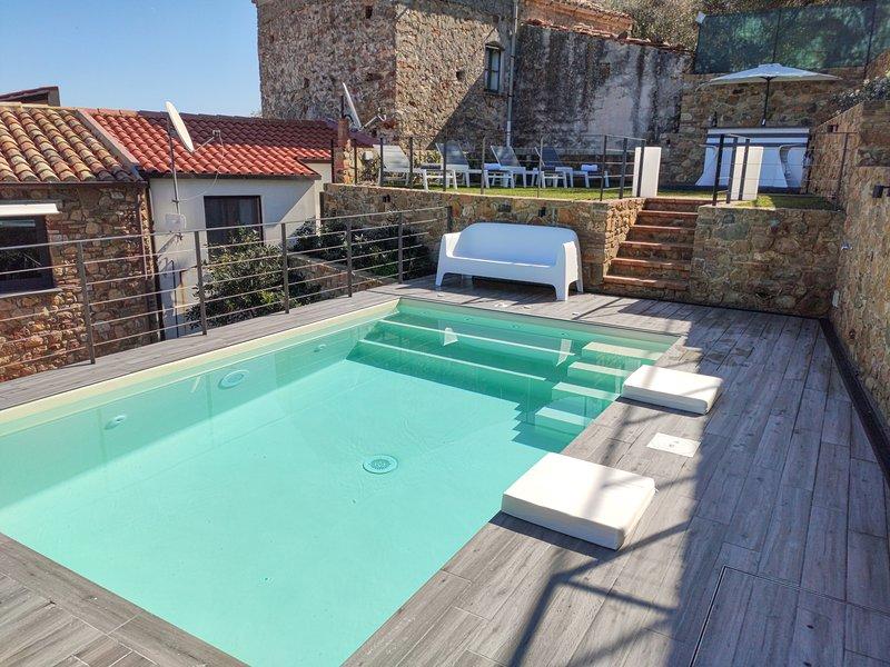 La villa del Borgo Cefalù, vacation rental in Finale