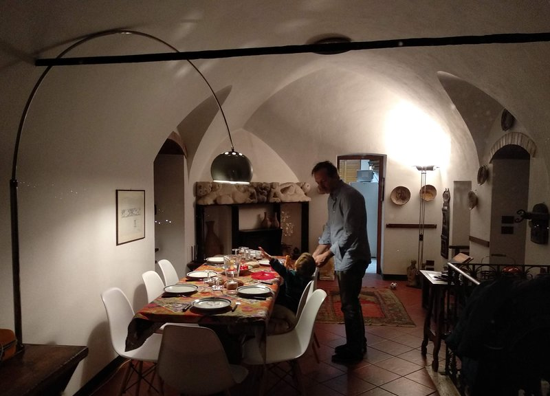 LA SBILENCA - ex monastery, great view and garden, holiday rental in Rialto