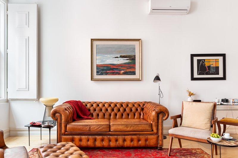 Decoración con estilo   Cómodo sofá