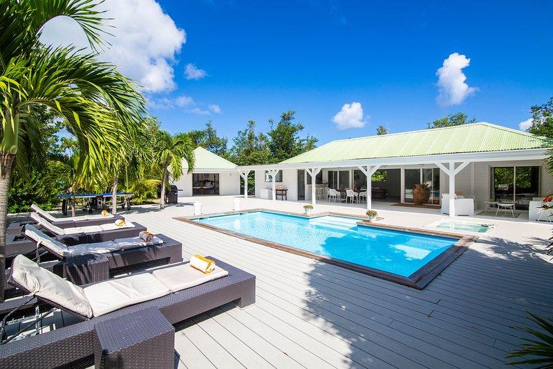 Dream Villa SXM Monchal, alquiler de vacaciones en Terres Basses