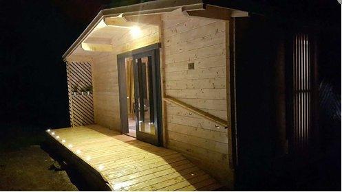 Studio Libellule: Front de Lac PMR, location de vacances à Ménessaire