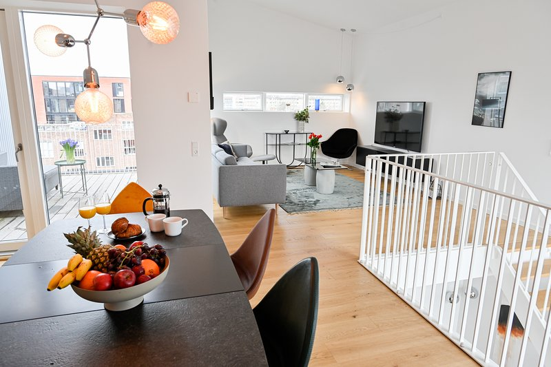 New Luxury 3-Bedroom Apartment in Copenhagen Nordhavn, holiday rental in Gentofte Municipality