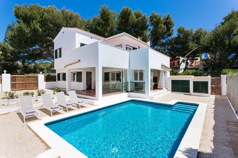 Villa La Calma IV, location de vacances à Es Grau