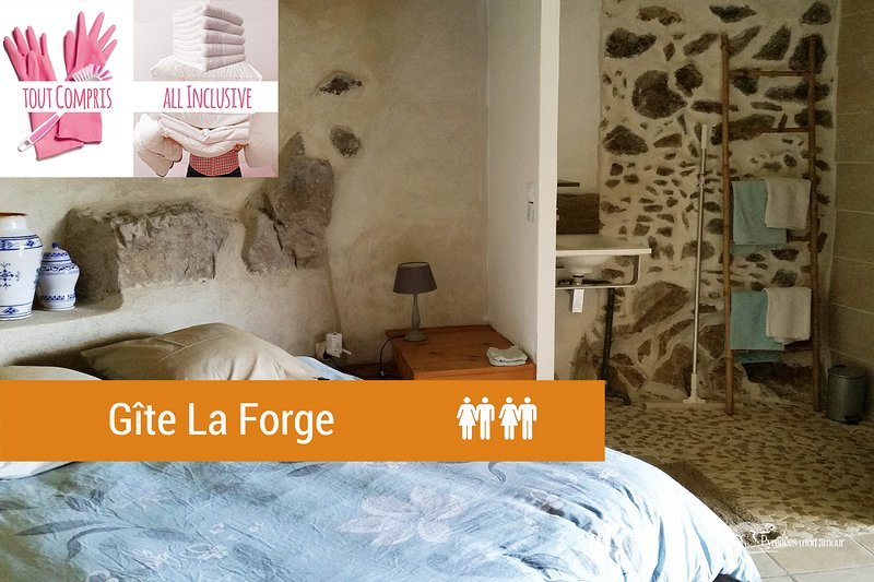 LA FORGE 'Pyrénées mon Amour' 3 personnes, holiday rental in Fosse