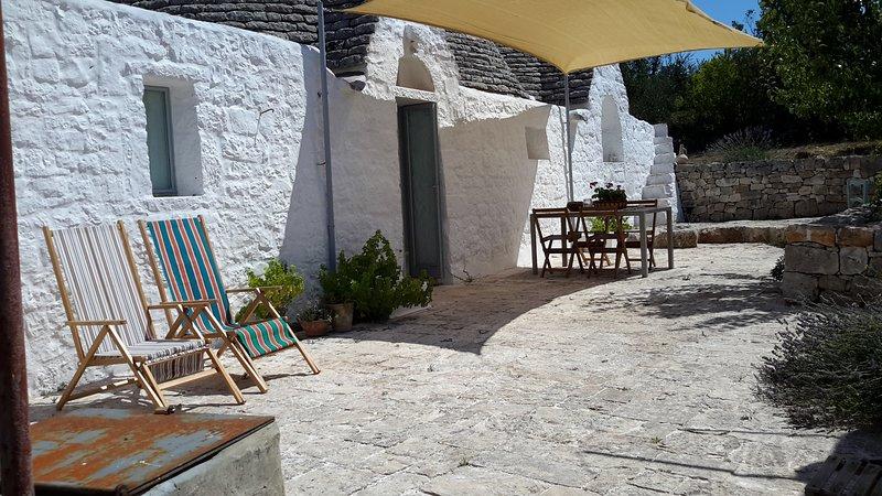 Trullo della corte, holiday rental in Chiobbica